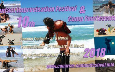 Fuerteventura Contact Impro Festival 2.-8.3.2019